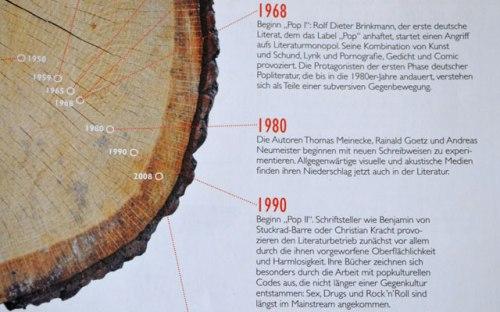 Natürlich kann man die Popliteraturgeschichten an Bäumen erklären. Nur warum?