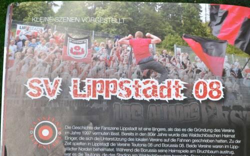 Kleine Szene, langer Text: Beginn eines Porträt der Ultras aus Lippstadt.