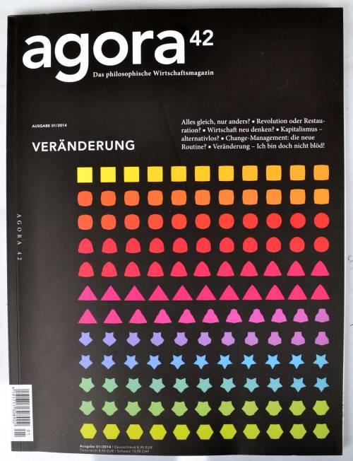 In der Zeitschrift agora42 trifft Wirtschaft auf Philosophie.