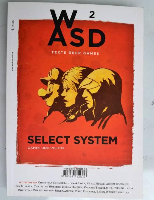 Cover der zweiten von bislang insgesamt vier WASD-Ausgaben.