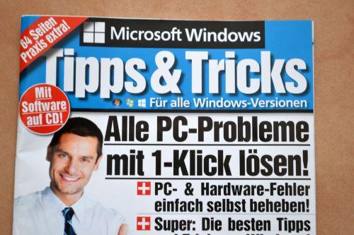 Großes Versprechen: Cover der Beilage des Magazins Computer, Ausgabe 3/2015