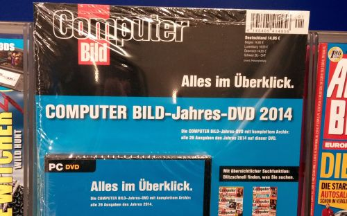 Alle Ausgaben 2014 auf einer DVD: Dieses Paket der Computer Bild gibt es gerade im Handel