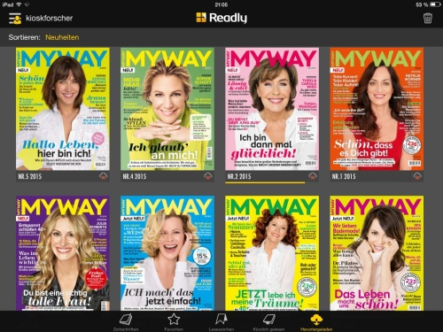 Cover MyWay