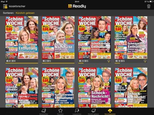 Cover der Frauenzeitschrift