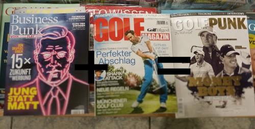 golf punk bearbeitet