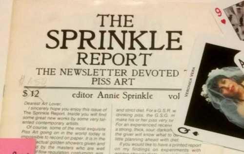 sprinkle report